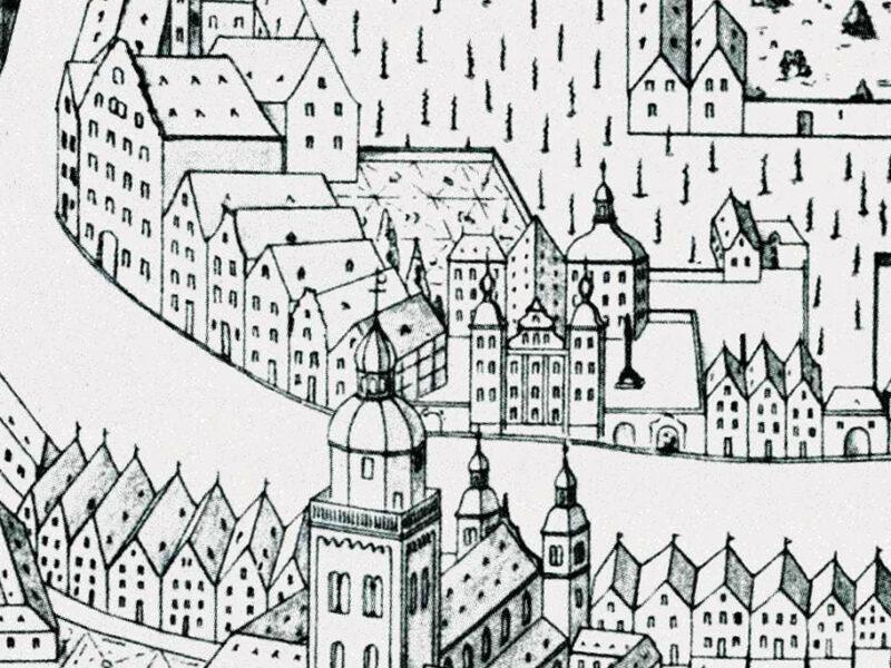 Zeichnung Stadt