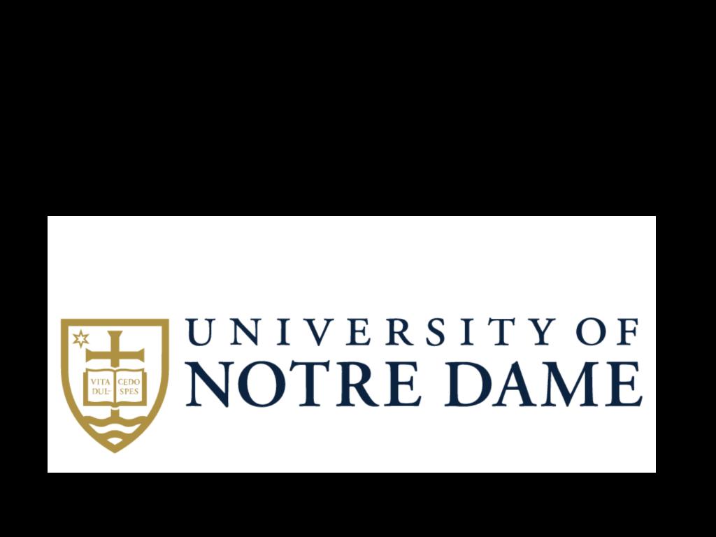 Logo University of notre dame