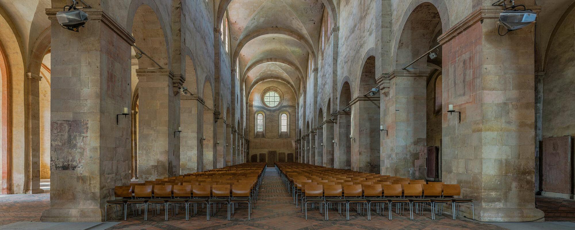 Kloster Erlenbach Innenansicht Kirchenschiff